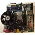 Intel DQ965GF(B) D41676-601 Socket 775 Motherboard With Pentium 4 3.4 Ghz Cpu