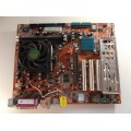 Abit NF8-V Socket 754 Motherboard With AMD Athlon 3000 2.00 Ghz Cpu