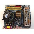 Gigabyte GA-945GCMX-S2 Socket 775 Motherboard With Intel Core 2 Duo 6600 2.40 Ghz Cpu