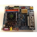 Gigabyte Socket 939 GA-K8NF-9 Motherboard With AMD Athlon 3000 1.80 Ghz Cpu