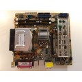 Asus P5LD2-TVM SE/S Socket 775 Motherboard With Core 2 Duo E4400 Cpu Side Fan