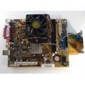 Asus Socket 754 K8ST/DP Rev 1.02 Motherboard With AMD Sempron 3100 1.80 GHz Cpu