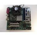 Intel E210882 D915GAG D915PSY Socket 775 Motherboard With Celeron D 2.53 GHz Cpu