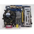 Foxconn 662MX Socket 775 Motherboard With Intel Celeron 2.80 GHz Cpu