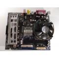 Foxconn 661FX7MJ-RSH Socket 775 Motherboard With Celeron 2.66 GHz Cpu