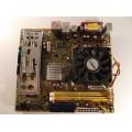 Asus M2V-TVM/V Socket AM2 Motherboard With AMD Sempron 2800 1.60 GHz Cpu