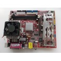 MSI MS-7061 Socket A (462) Motherboard With AMD Sempron 2400 Cpu