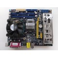 Foxconn 45CMX-K Socket 775 Motherboard With Intel Pentium Dual Core E2180 2.00 GHz Cpu