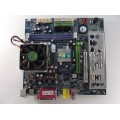 Gigabyte GA-7VM400AM Socket A (462) Motherboard With Sempron 2400 1.67 GHz Cpu