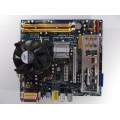 Asrock Conroe 1333-D667 Socket 775 Motherboard with Pentium Dual E2140 1.60 GHz Cpu