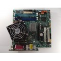 Lenovo 45R5313 45R5463 Think Centre M57 Motherboard With Core 2 Duo E8400 Cpu