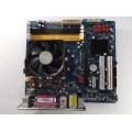 Asus M2N-VM/S Socket AM2 Motherboard With AMD Athlon 64 2600 Cpu