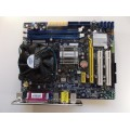 Foxconn G31MXP-K Socket 775 Motherboard With Intel Core 2 Duo E5400 2.70 GHz Cpu