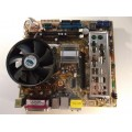 Asus P5LD2-TVM SE/S Socket 775 Motherboard With Pentium 4 3.40 GHz Cpu