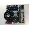 Intel E210882 D945GTP D945PLM Socket 775 Motherboard With Pentium 4 3.40 GHz Cpu