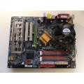 Gigabyte GA-8IPE775-G Socket 775 Motherboard With Intel Pentium 3.20 GHz Cpu