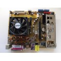 Asus M2N-MX SE Plus Socket AM2 Motherboard With AMD Athlon X2 Dual Core 4200 2.2 GHz Cpu