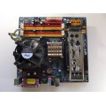 Gigabyte GA-945GM-S2 Socket 775 Motherboard With Intel Core 2 Duo 6600 2.40 GHz Cpu