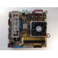 Asus M2A-VM Skt AM2 Motherboard With AMD Athlon X2 Dual Core 6000 3.00 GHz Cpu