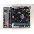 Gigabyte GA-H61M-DS2 Skt 1155 Motherboard With Intel Core i3-3225 3.30 GHz Cpu