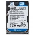 """Western Digital WD3200BPVT - 22JJ5T0 320Gb 2.5"""" Internal SATA Hard Drive"""