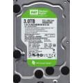 """Western Digital Caviar Green WD30EZRX - 00MMMB0 3.0TB 3.5"""" SATA Hard Drive"""