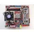 MSI MS-6714 VER:5 Socket 478 Motherboard With Pentium 4 2.80 GHz Cpu