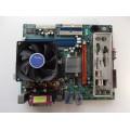 ECS GS7610 Ultra Socket 754 Motherboard With AMD Athlon 3000 2.0 GHz Cpu
