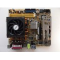 Asus M2V-TVM/V M2V890/DP Socket AM2 Motherboard With Athlon X2 Dual Core 5000+ Cpu