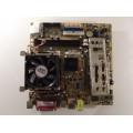 Asus P5S800-VM/S Socket 775 Motherboard With Intel Celeron D 2.80 GHz Cpu