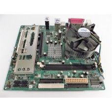 Intel D101GGC D35788-310 Socket 775 Motherboard With Pentium 2.80 GHz Cpu