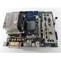 Asrock P4VM900-SATA2 Socket 478 Motherboard With Intel Pentium 2.80 GHz Cpu