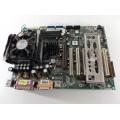 QDI PlatiniX 2-A Socket 478 Motherboard With Pentium 4 2.40 GHz Cpu