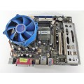 Foxconn 661FX7MJ-RSH Socket 775 Motherboard With Intel Pentium 3.00 GHz Cpu