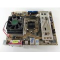 Asus Socket A (462) A7S8X-MX Motherboard With AMD Sempron 2600 1.83 GHz Cpu