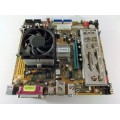 Winfast 760M01-GX-6LRS Socket 754 Motherboard With AMD Sempron 2600 1.60 GHz Cpu