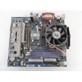 Gigabyte GA-K8VM800MNF Socket 754 Motherboard With AMD Sempron 3000 1.80 GHz Cpu