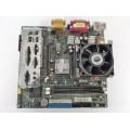 MSI MS-6526 VER:3 Socket 478 Motherboard With Intel Pentium 1.80 GHz Cpu