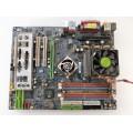 Gigabyte GA-7NNXP Socket A (462) Motherboard With AMD Sempron 2400 1.67 GHz Cpu