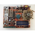 Abit KW7 Socket A (462) Motherboard With AMD Athlon XP 3200 2.10 GHz Cpu