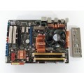 Asus P5K PRO Socket 775 Motherboard With Intel Core 2 Duo E8400 3.00 GHz Cpu