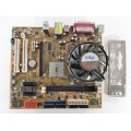 Asus P5RD2-VM Socket 775 Motherboard With Intel Pentium 3.40 GHz Cpu