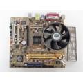 Asus P5VD2-TVM/S Socket 775 Motherboard With Intel Celeron 3.06 GHz Cpu