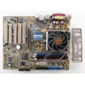 Asus K8V-X REV 2.00 Socket 754 Motherboard With AMD Sempron 3100 1.80 GHz Cpu