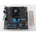 Asus M5A78L-M/USB3 Socket AM3+ Motherboard With AMD FX8320 8 Core 3.50 GHz Cpu