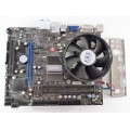 MSI G41M-S03 Socket 775 Motherboard With Intel Core 2 Duo E7600 3.06 GHz Cpu