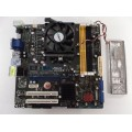 Asus M2N68-VM Motherboard With AMD Athlon X2 Dual Core 4800 2.50 GHz Cpu