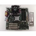 Intel D865GLC C27500-412 Socket 478 Motherboard With Intel Pentium 4 3.0 GHz Cpu