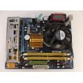 Gigabyte GA-G31M-ES2L Motherboard With Pentium Dual Core E5400 2.70 GHz Cpu