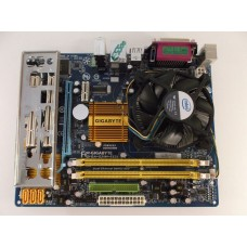 Gigabyte GA-G31M-ES2L Motherboard With Core 2 Duo E7500 2.93 GHz Cpu
